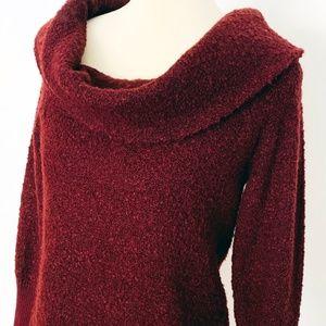 Banana Republic Boucle Cowl Neck Sweater